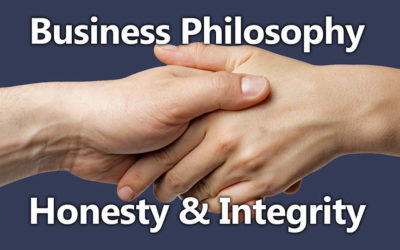 Business Philosophy 04: Honesty & Integrity