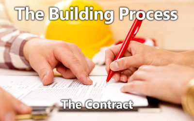 Building Process 09: The Contract