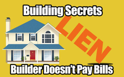Building Secrets 05: Builder Doesn't Pay Bills