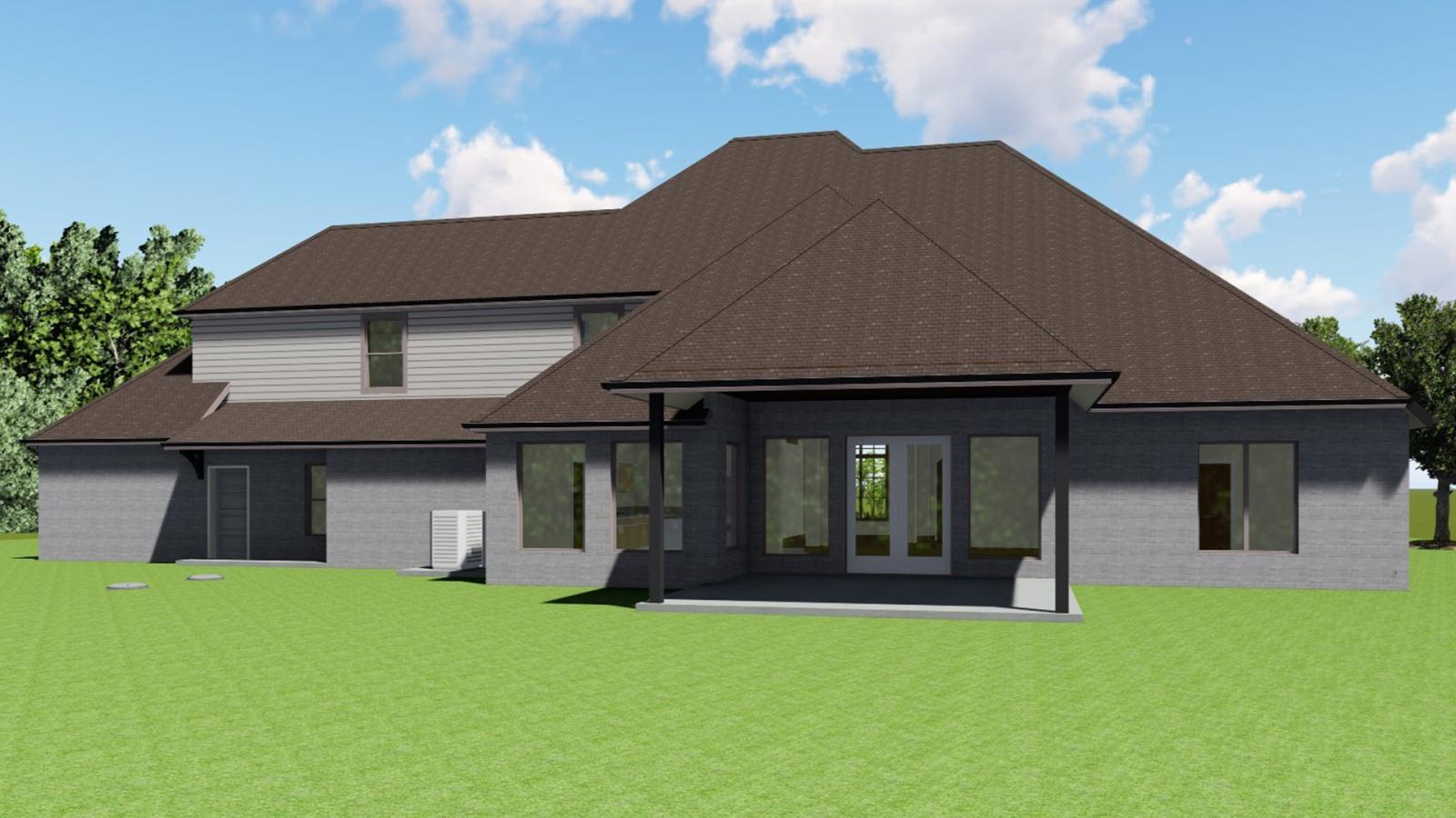 4 Bedrooms Bedrooms, ,4 BathroomsBathrooms,Custom Home,Home Plans,1012