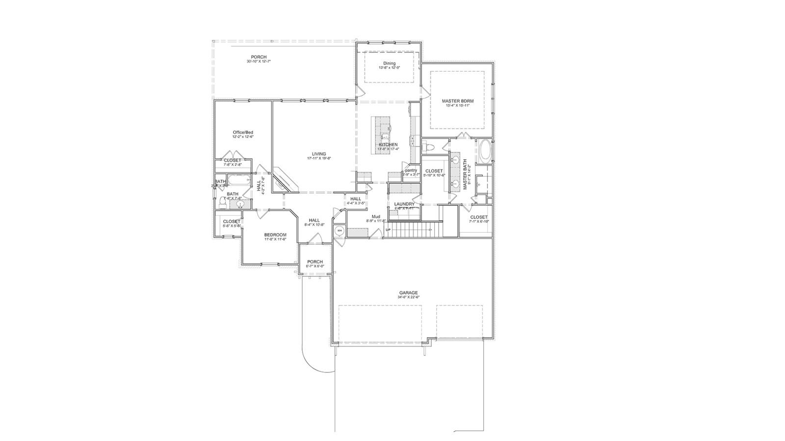 5 Bedrooms Bedrooms, ,3 BathroomsBathrooms,Custom Home,Home Plans,1013