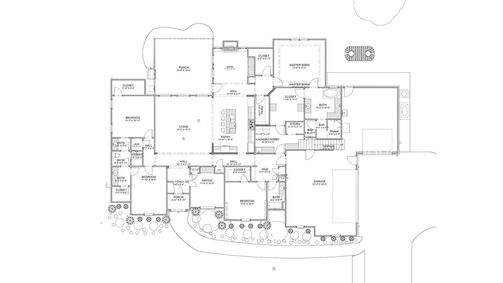 4 Bedrooms Bedrooms, ,3 BathroomsBathrooms,Custom Home,Home Plans,1016