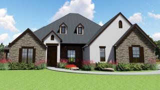 4 Bedrooms Bedrooms, ,3 BathroomsBathrooms,Custom Home,Home Plans,1017