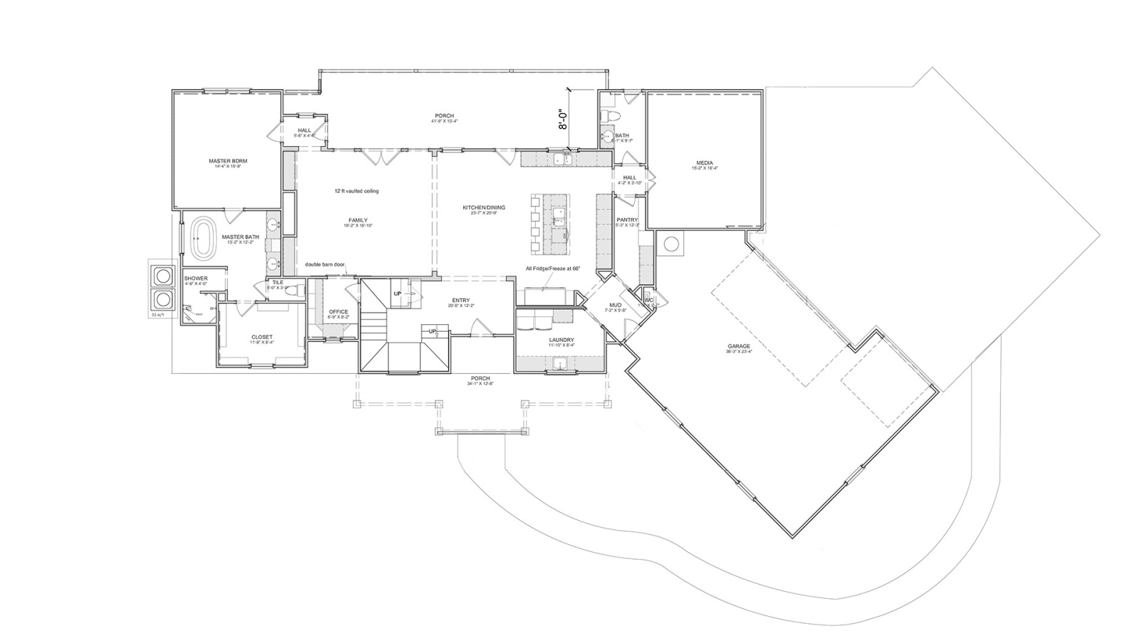 3 Bedrooms Bedrooms, ,3 BathroomsBathrooms,Custom Home,Featured Home Plans,1001