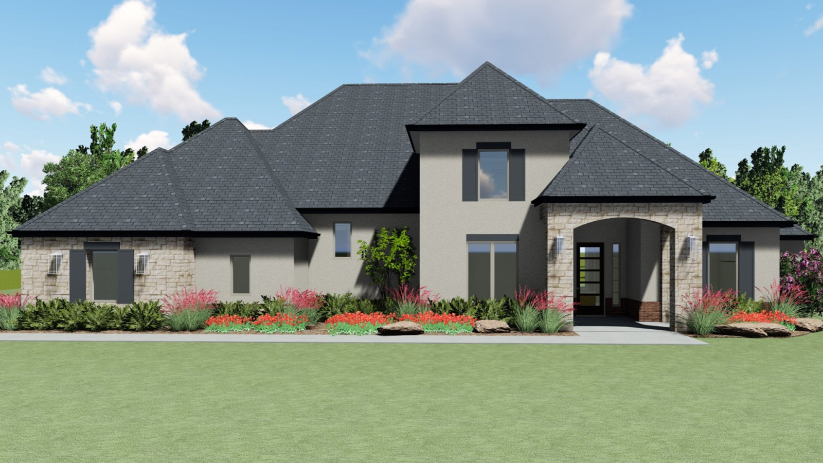 4 Bedrooms Bedrooms, ,3 BathroomsBathrooms,Custom Home,Home Plans,1019