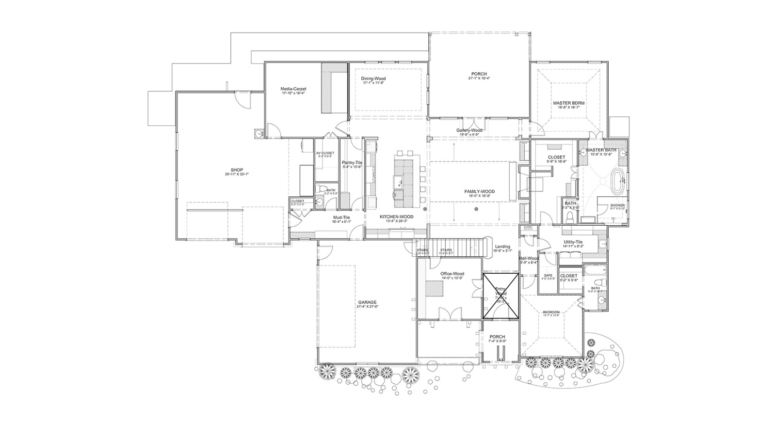 4 Bedrooms Bedrooms, ,5 BathroomsBathrooms,Custom Home,Home Plans,1021