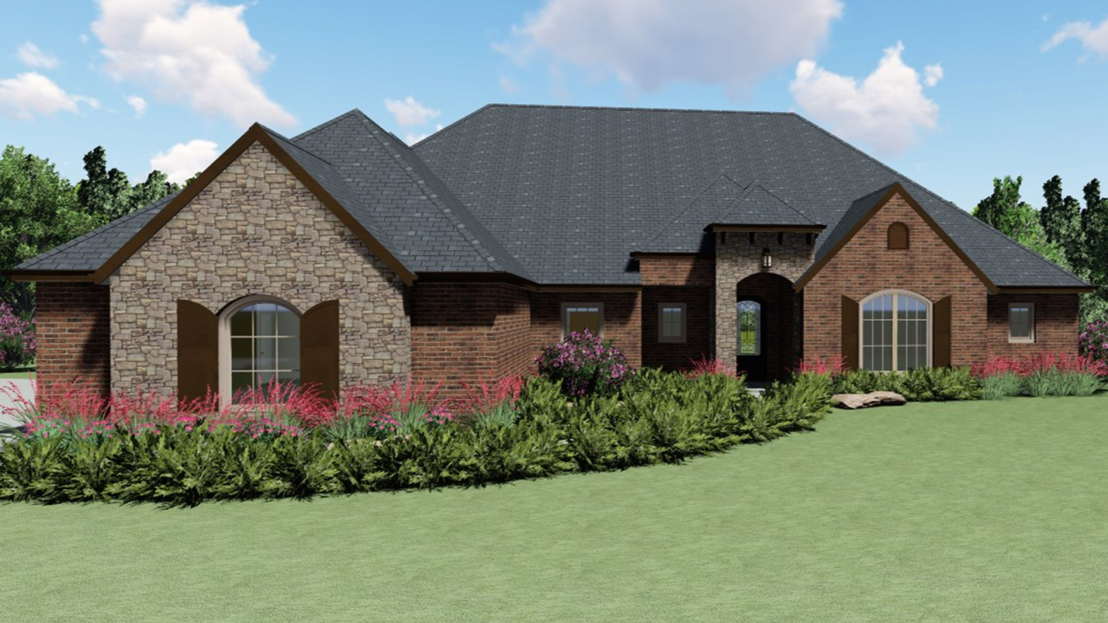 3 Bedrooms Bedrooms, ,2 BathroomsBathrooms,Custom Home,Home Plans,1024