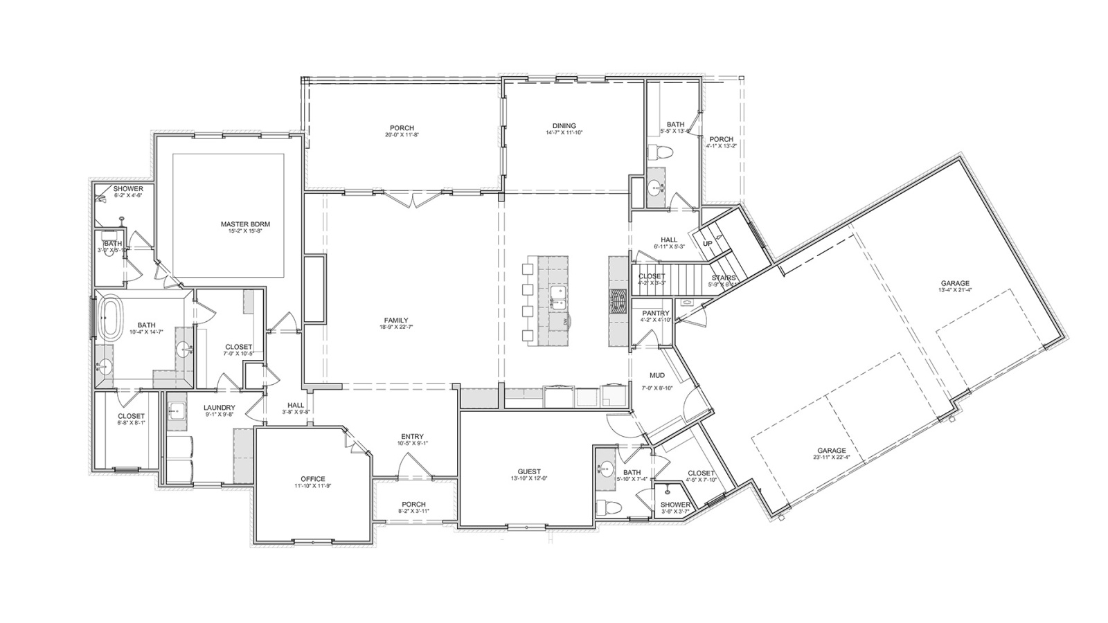 4 Bedrooms Bedrooms, ,4 BathroomsBathrooms,Custom Home,Home Plans,1025