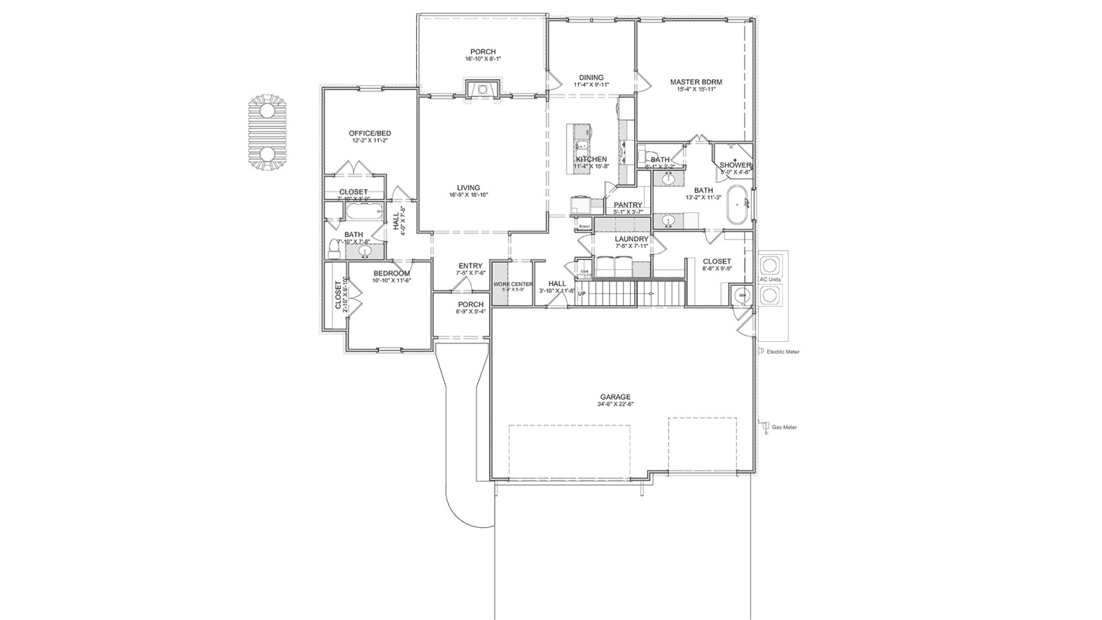 5 Bedrooms Bedrooms, ,3 BathroomsBathrooms,Custom Home,Home Plans,1026