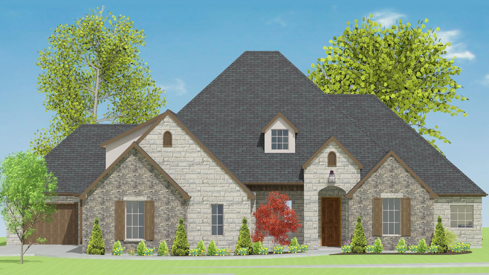 3 Bedrooms Bedrooms, ,3 BathroomsBathrooms,Custom Home,Home Plans,1034