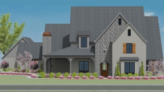 4 Bedrooms Bedrooms, ,5 BathroomsBathrooms,Custom Home,Home Plans,1037