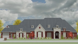 4 Bedrooms Bedrooms, ,4 BathroomsBathrooms,Custom Home,Home Plans,1038