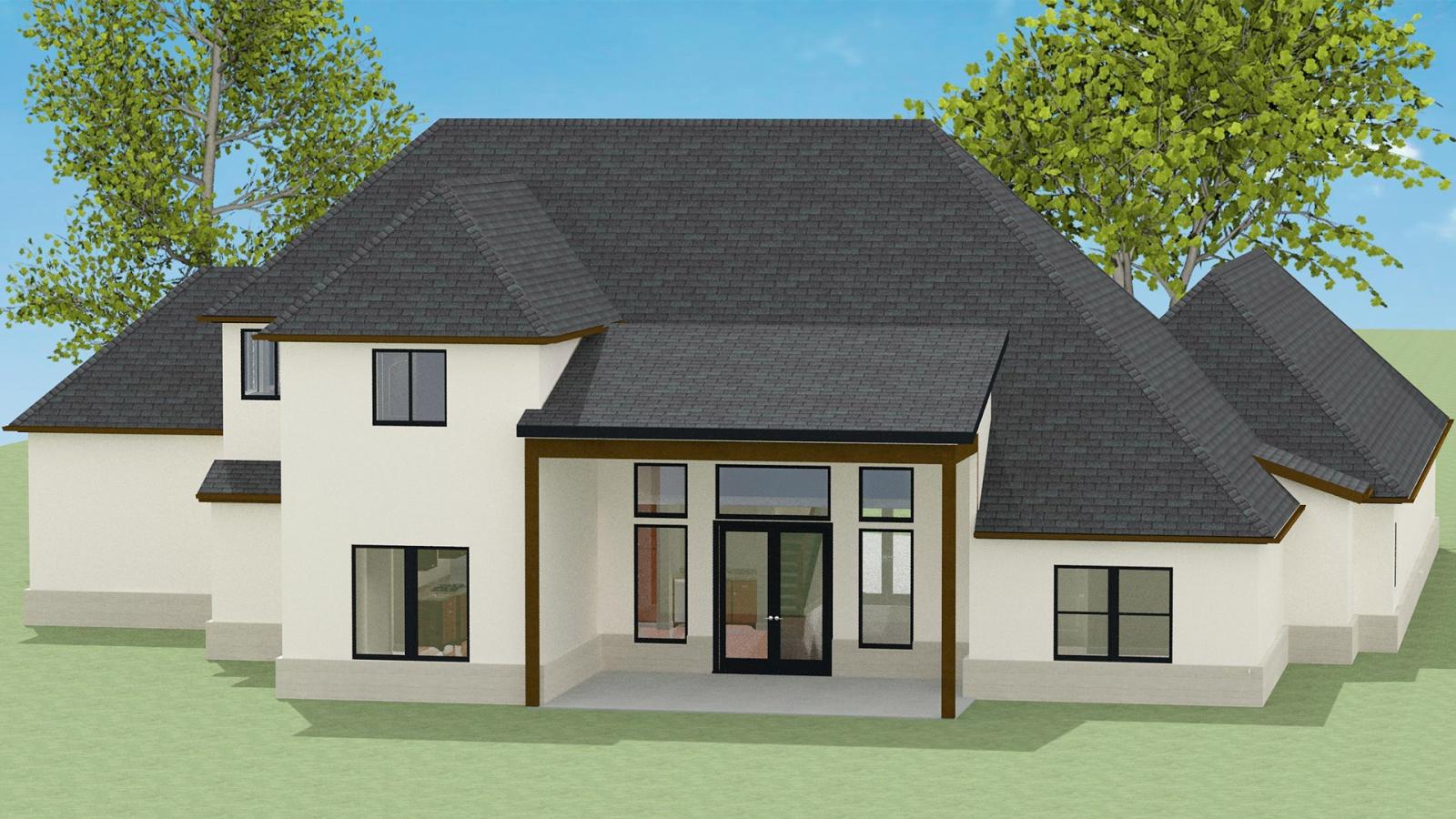 4 Bedrooms Bedrooms, ,3 BathroomsBathrooms,Custom Home,Home Plans,1040