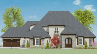 5 Bedrooms Bedrooms, ,5 BathroomsBathrooms,Custom Home,Home Plans,1043