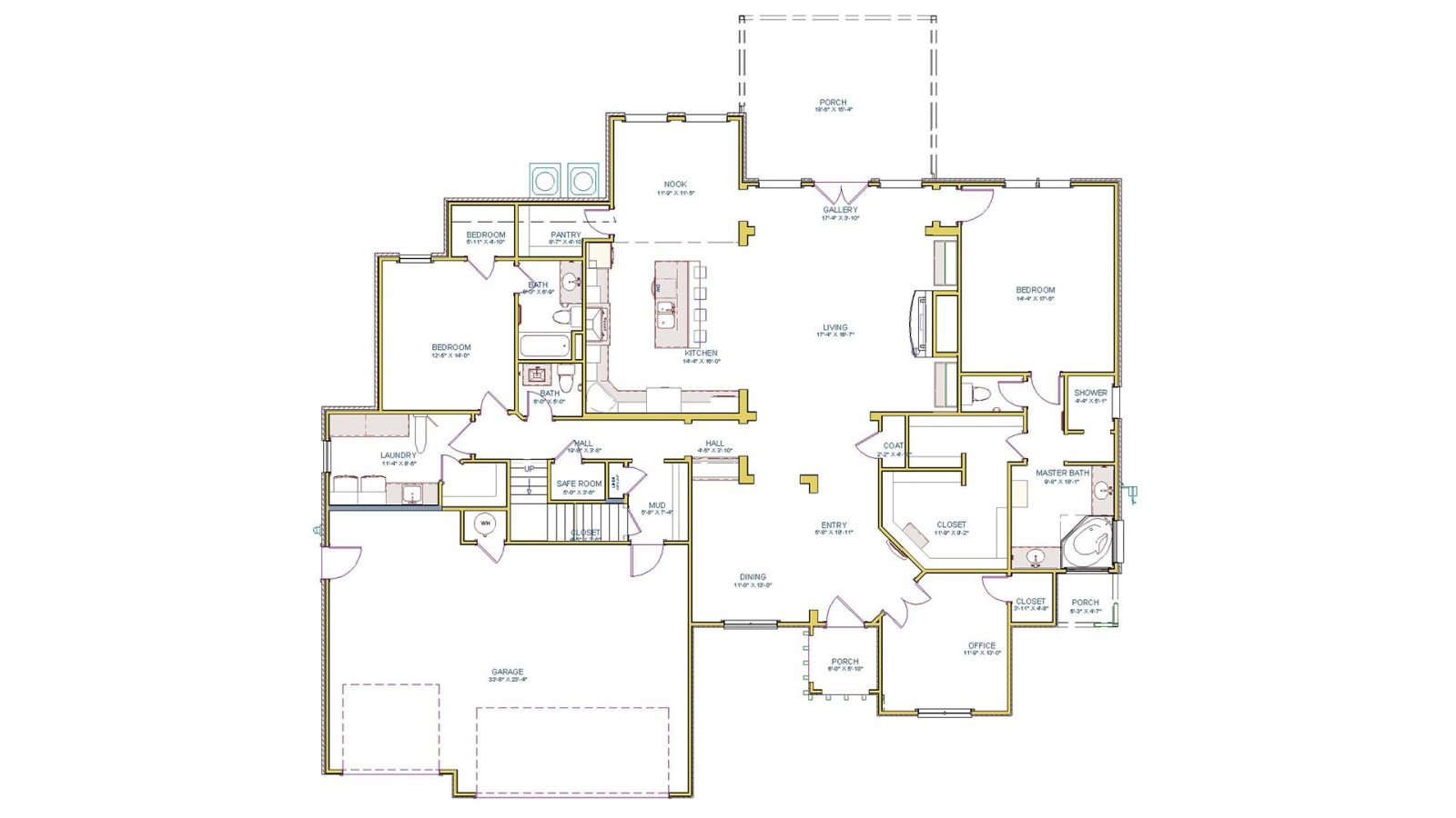 4 Bedrooms Bedrooms, ,4 BathroomsBathrooms,Custom Home,Home Plans,1044