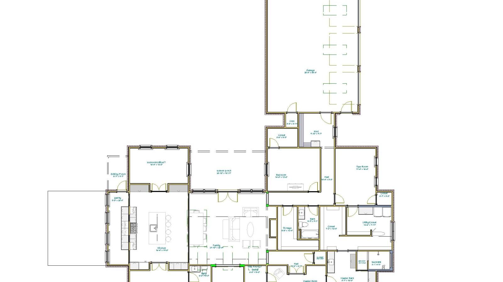 3 Bedrooms Bedrooms, ,3 BathroomsBathrooms,Custom Home,Home Plans,1045