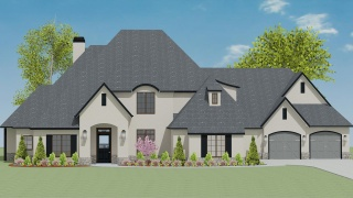 5 Bedrooms Bedrooms, ,6 BathroomsBathrooms,Custom Home,Home Plans,1046
