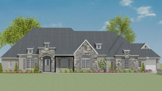 4 Bedrooms Bedrooms, ,4 BathroomsBathrooms,Custom Home,Home Plans,1047