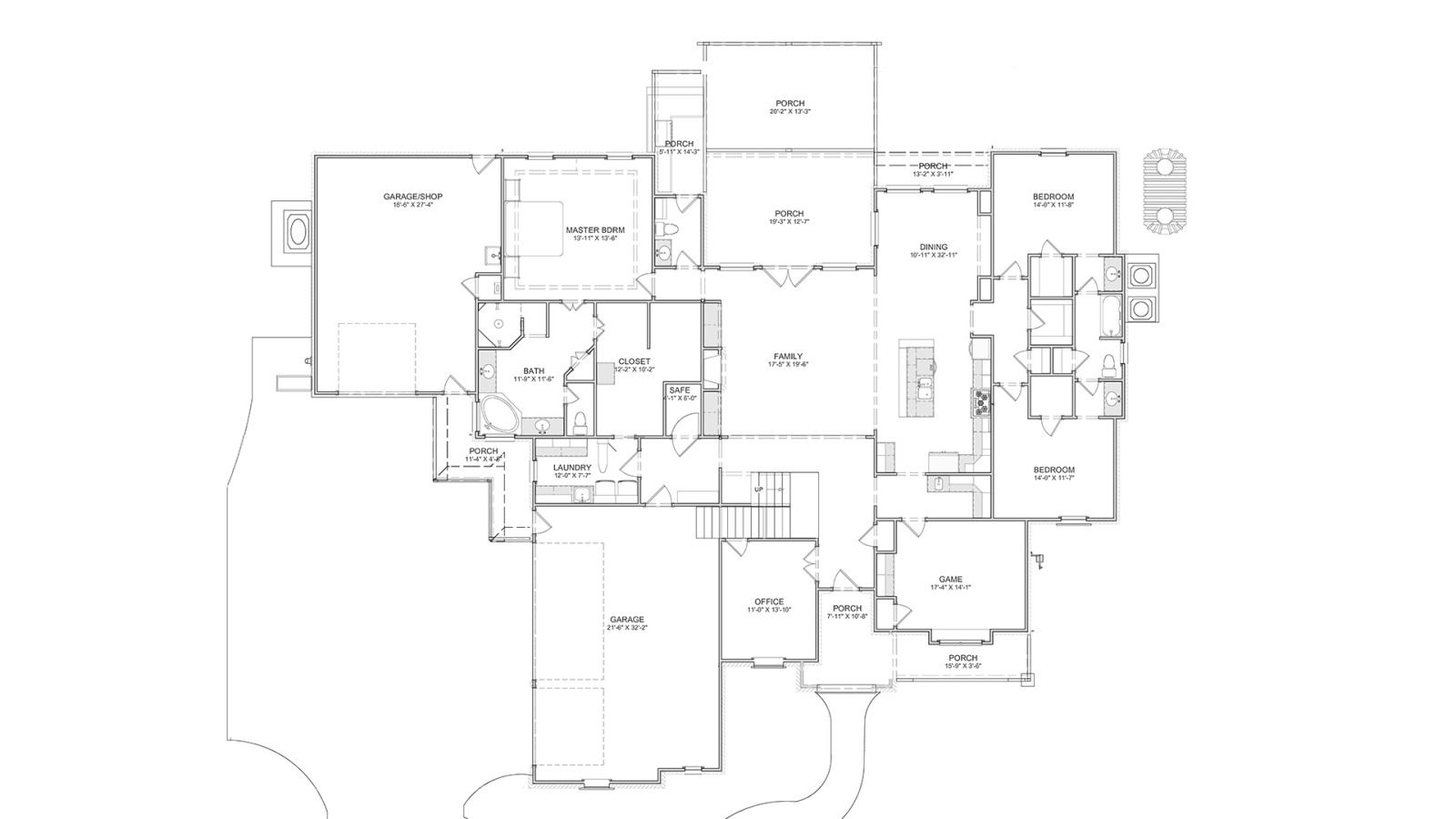 5 Bedrooms Bedrooms, ,4 BathroomsBathrooms,Custom Home,Home Plans,1004