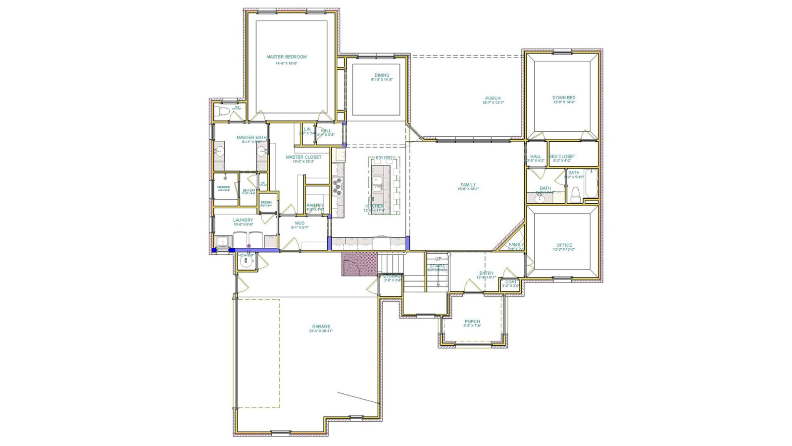 3 Bedrooms Bedrooms, ,3 BathroomsBathrooms,Custom Home,Home Plans,1049