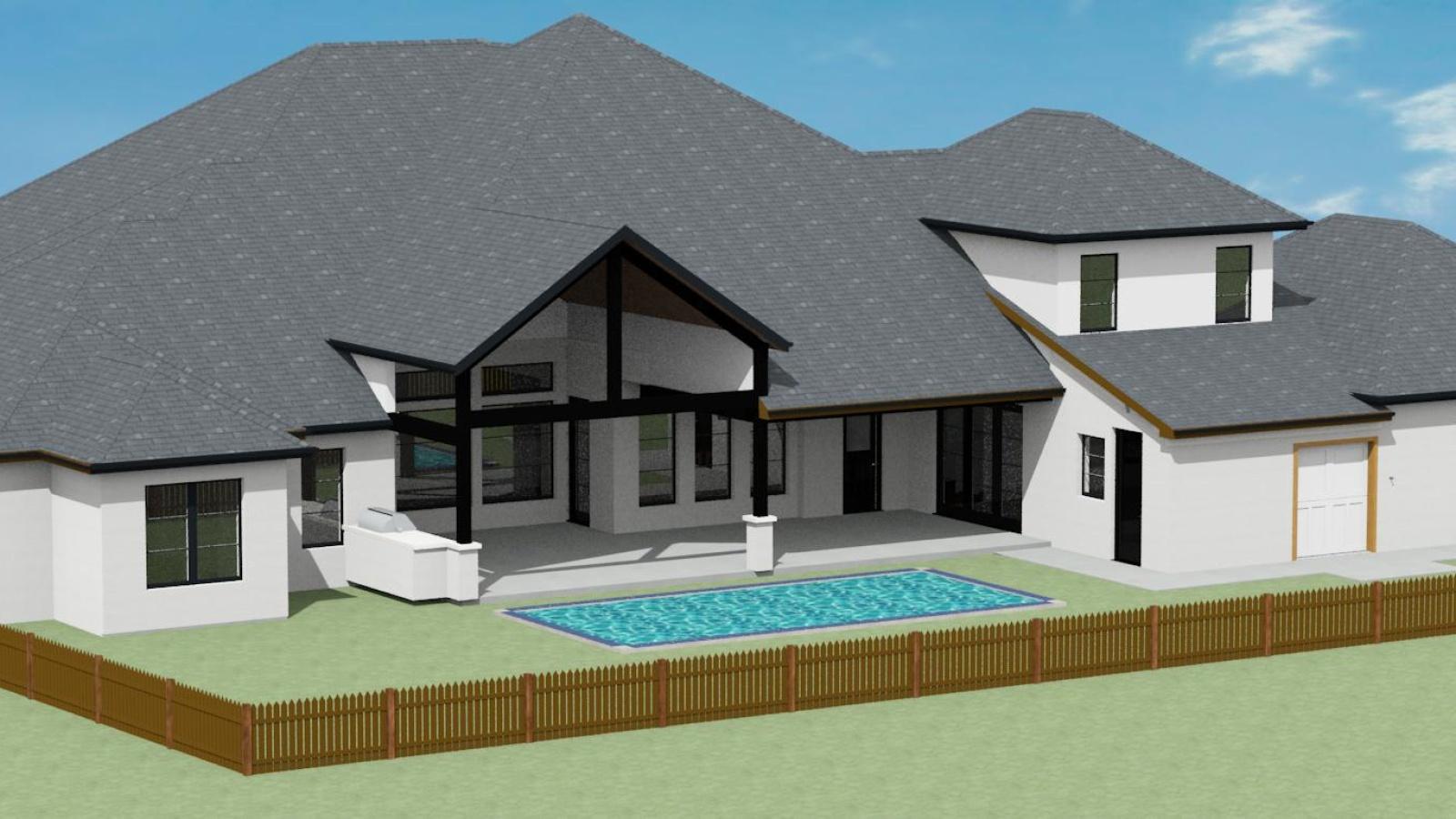 3 Bedrooms Bedrooms, ,5 BathroomsBathrooms,Custom Home,Home Plans,1050