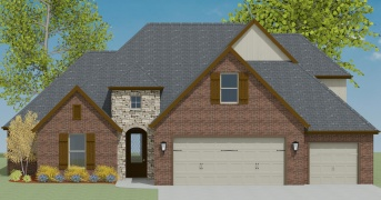 4 Bedrooms Bedrooms, ,3 BathroomsBathrooms,Custom Home,Home Plans,1052
