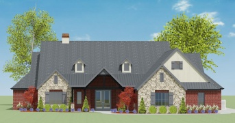 4 Bedrooms Bedrooms, ,3 BathroomsBathrooms,Custom Home,Home Plans,1054