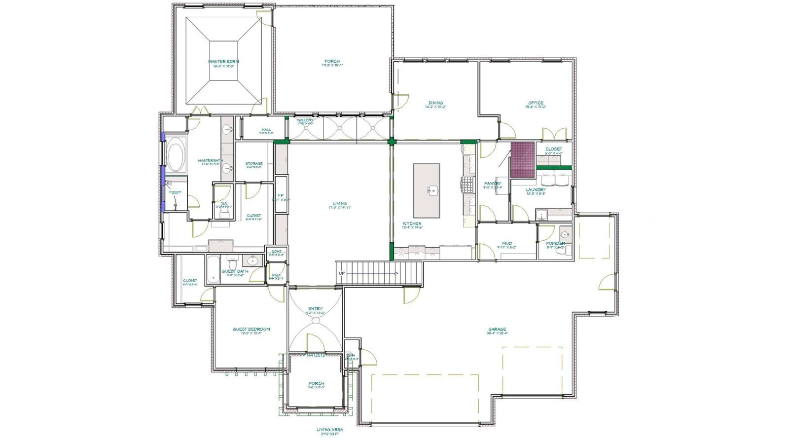 4 Bedrooms Bedrooms, ,4 BathroomsBathrooms,Custom Home,Home Plans,1059
