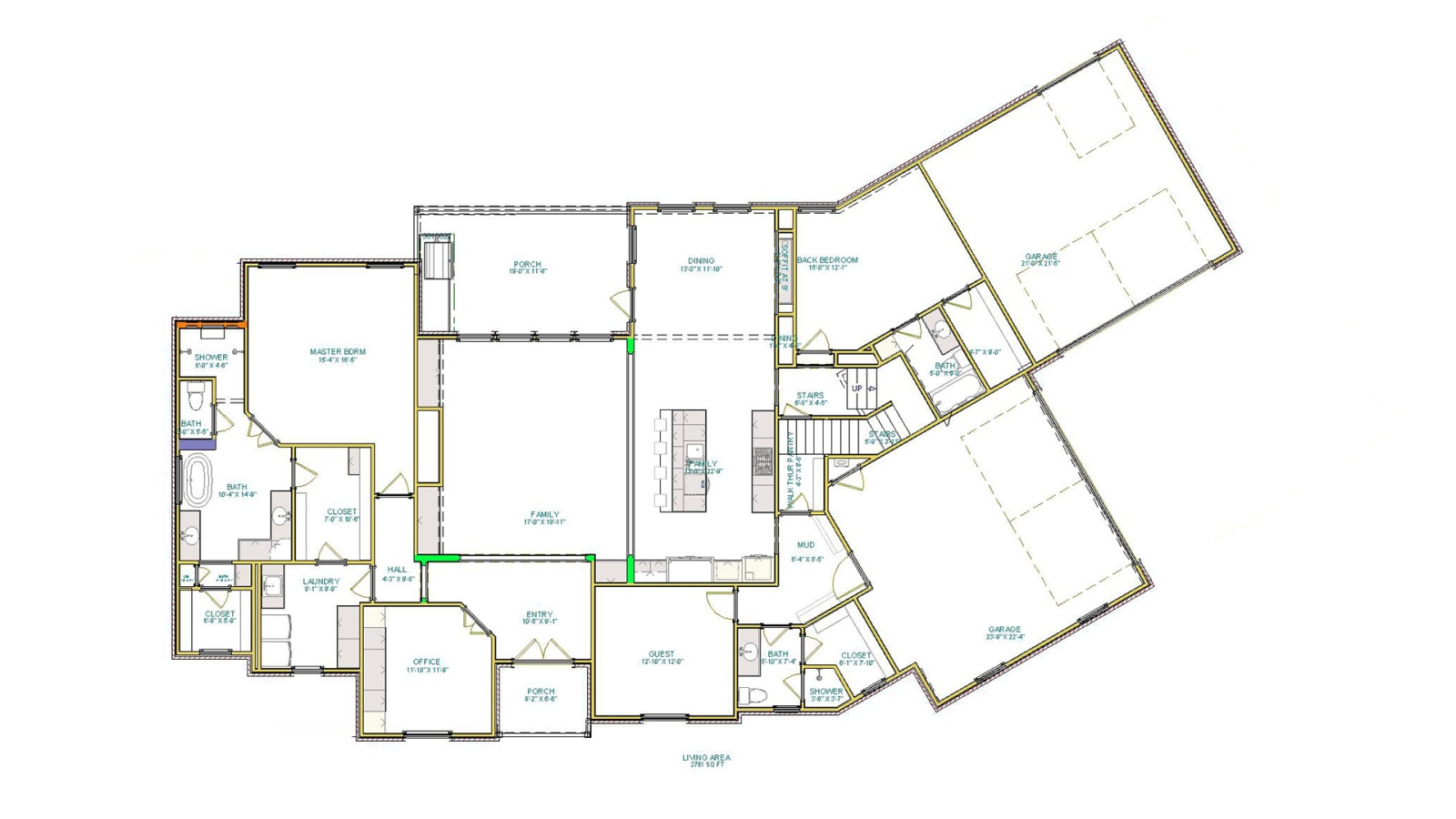 5 Bedrooms Bedrooms, ,4 BathroomsBathrooms,Custom Home,Home Plans,1061
