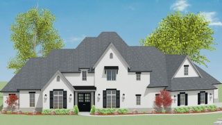 5 Bedrooms Bedrooms, ,4 BathroomsBathrooms,Custom Home,Home Plans,1061