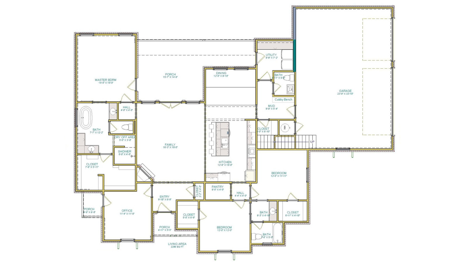 3 Bedrooms Bedrooms, ,3 BathroomsBathrooms,Custom Home,Home Plans,1066