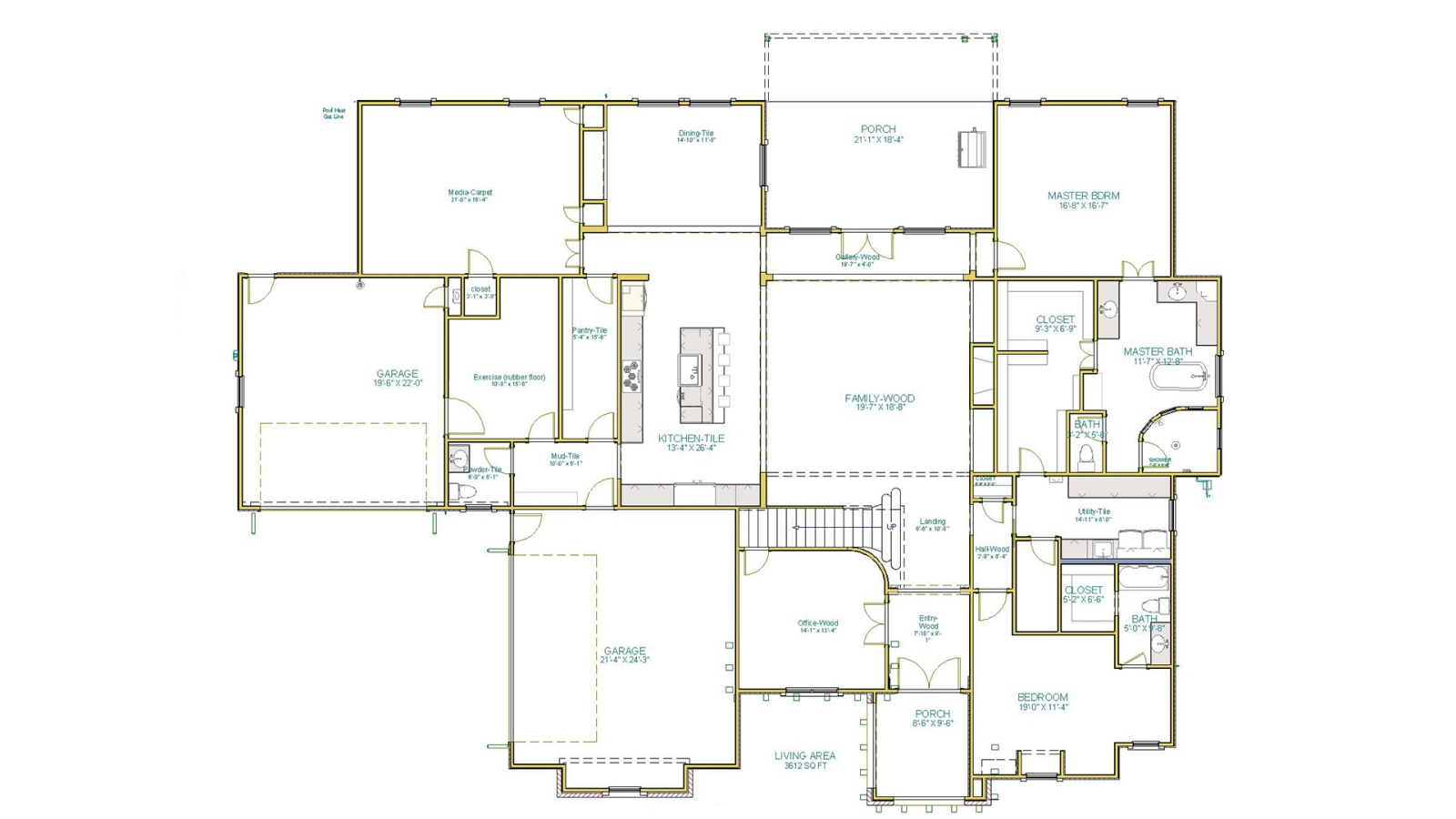 4 Bedrooms Bedrooms, ,5 BathroomsBathrooms,Custom Home,Home Plans,1067