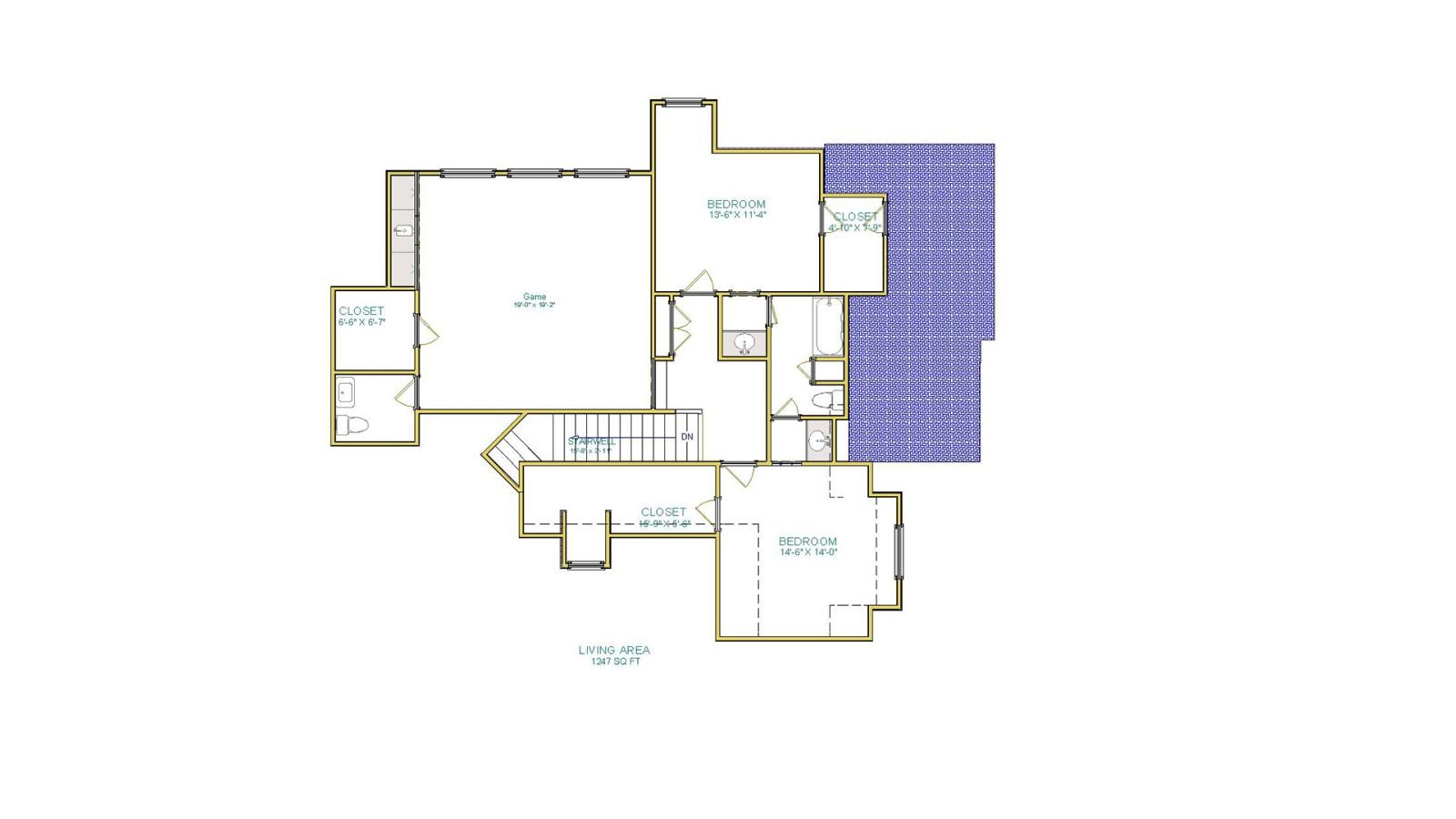 4 Bedrooms Bedrooms, ,4 BathroomsBathrooms,Custom Home,Home Plans,1068