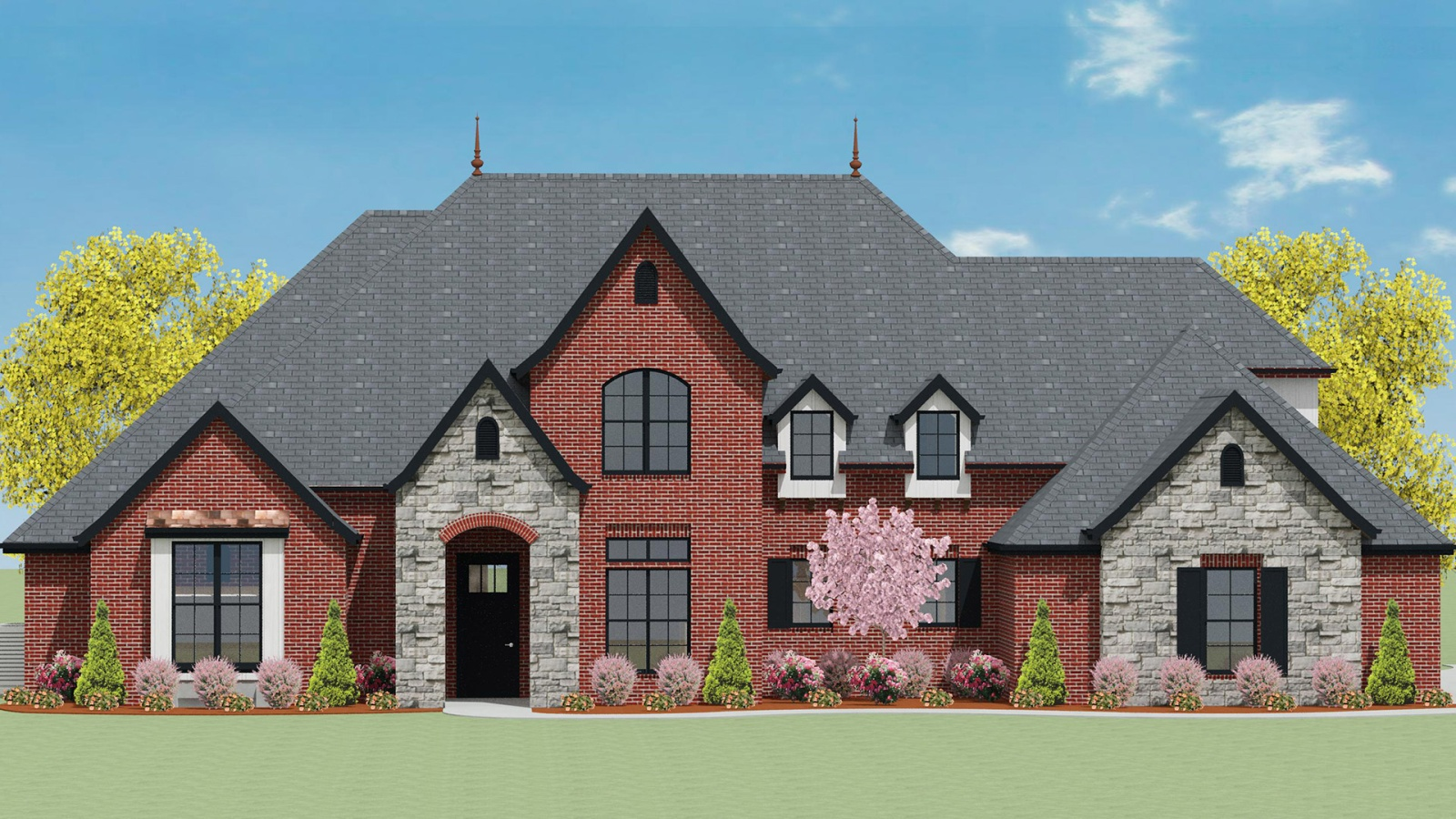 4 Bedrooms Bedrooms, ,4 BathroomsBathrooms,Custom Home,Home Plans,1070