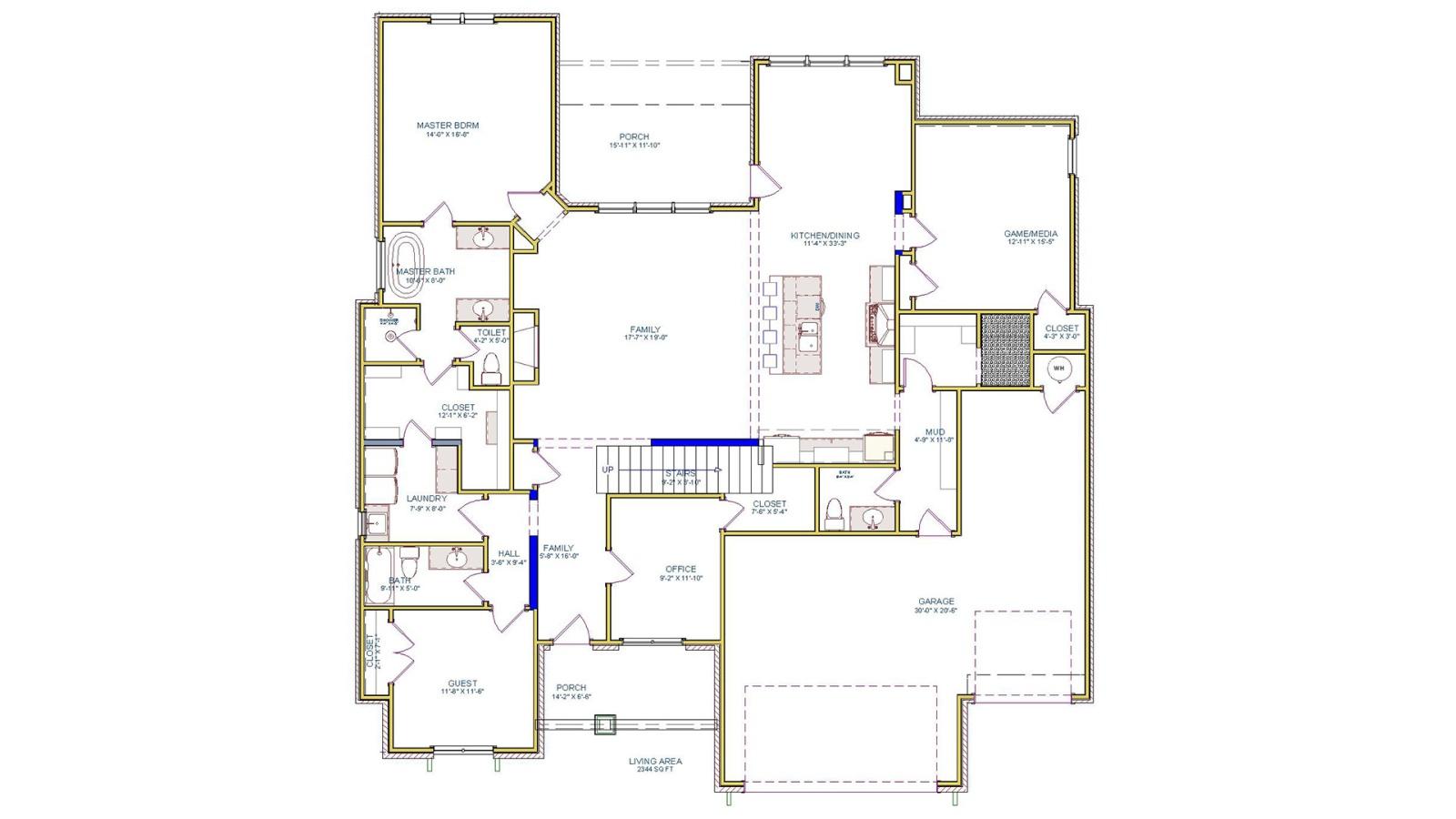 5 Bedrooms Bedrooms, ,5 BathroomsBathrooms,Custom Home,Home Plans,1072