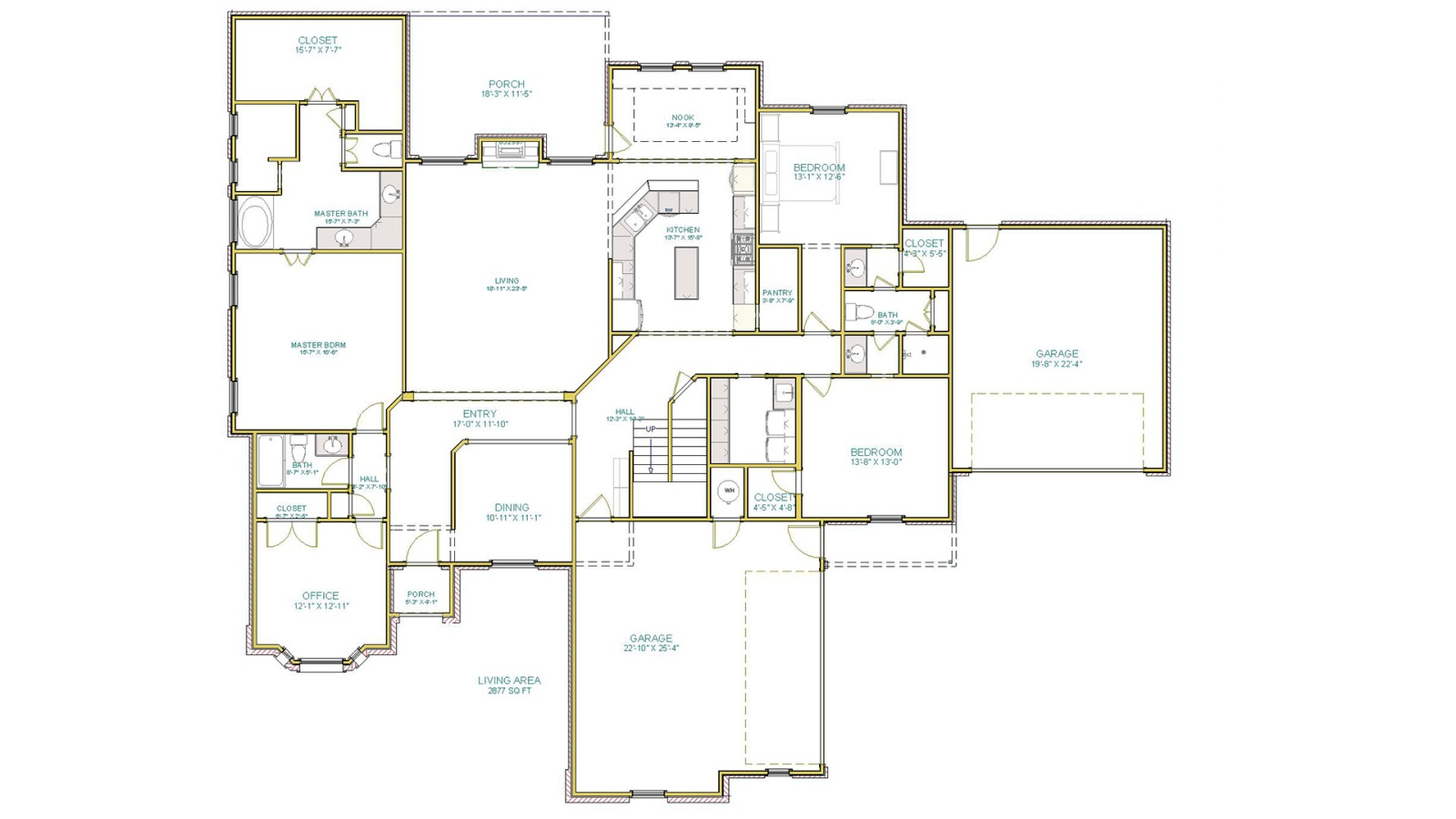 3 Bedrooms Bedrooms, ,4 BathroomsBathrooms,Custom Home,Home Plans,1074