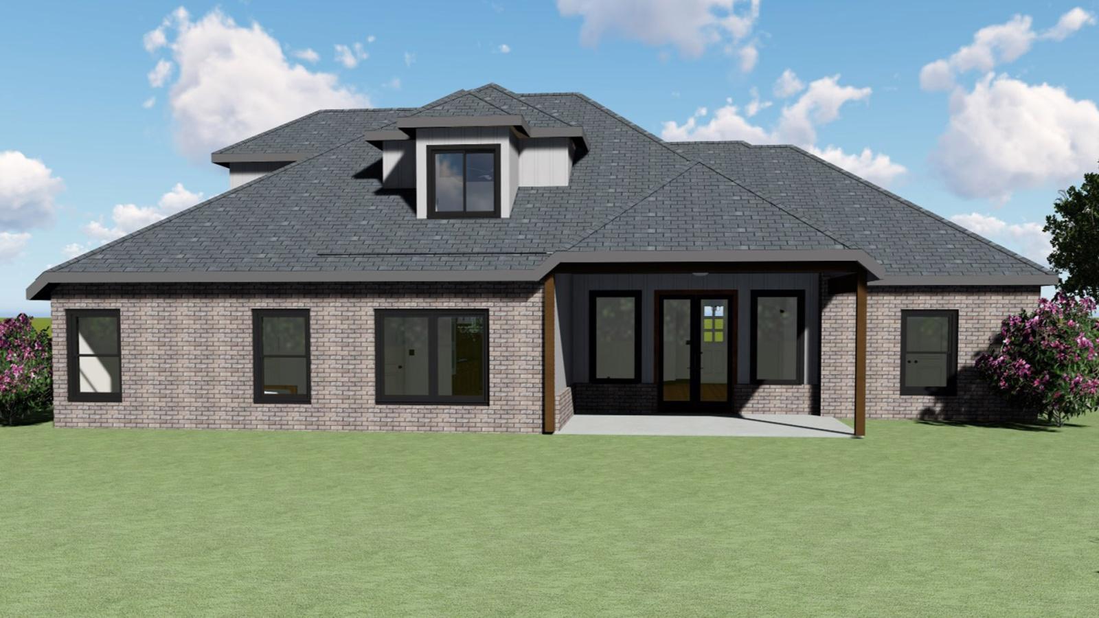 4 Bedrooms Bedrooms, ,3 BathroomsBathrooms,Custom Home,Home Plans,1007