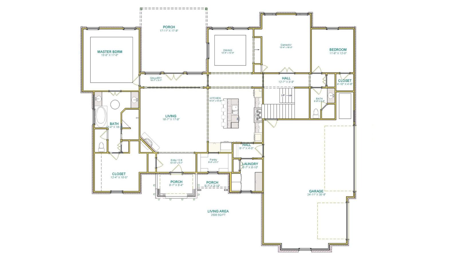 4 Bedrooms Bedrooms, ,3 BathroomsBathrooms,Custom Home,Home Plans,1081