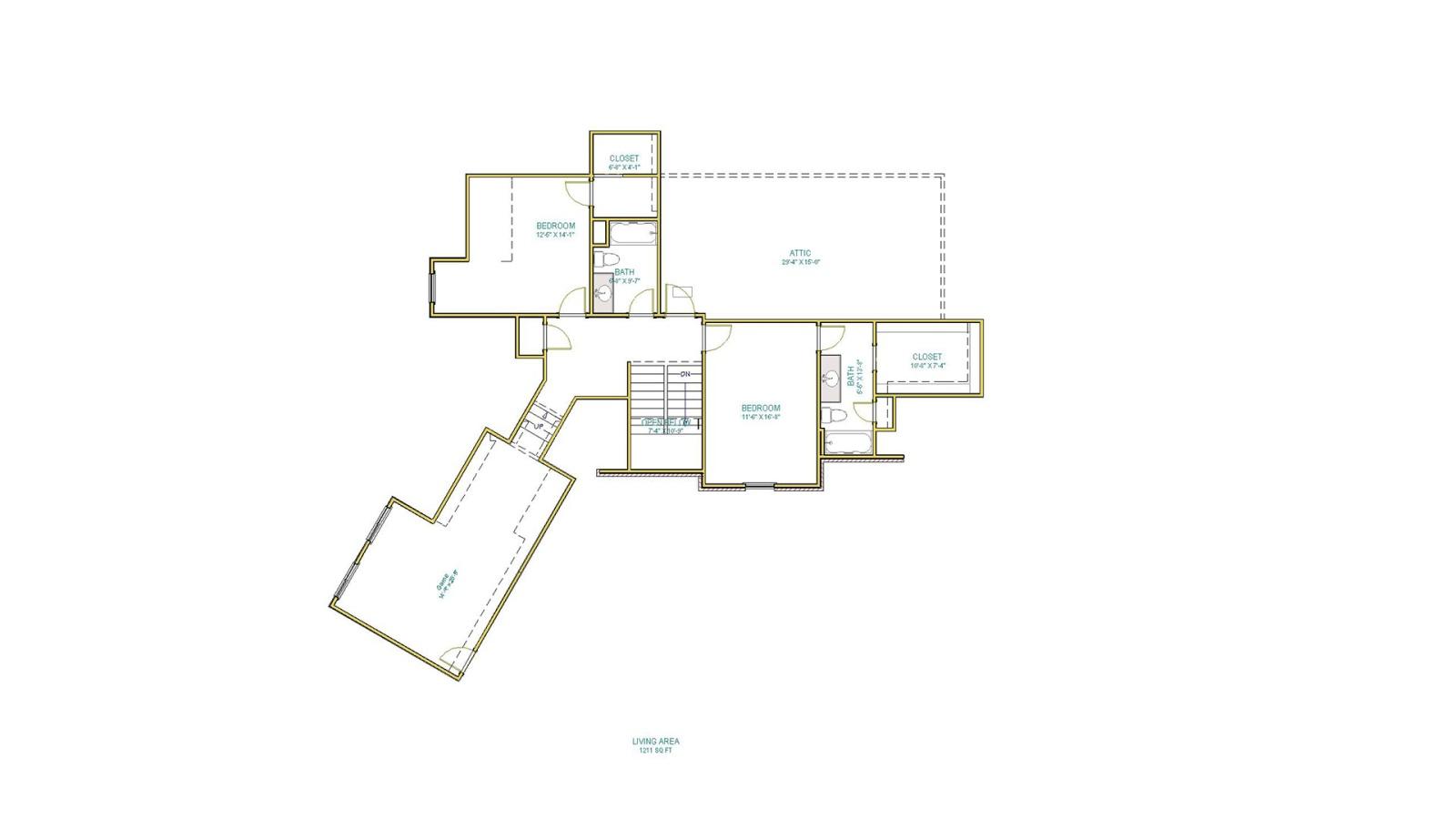 4 Bedrooms Bedrooms, ,4 BathroomsBathrooms,Custom Home,Home Plans,1083