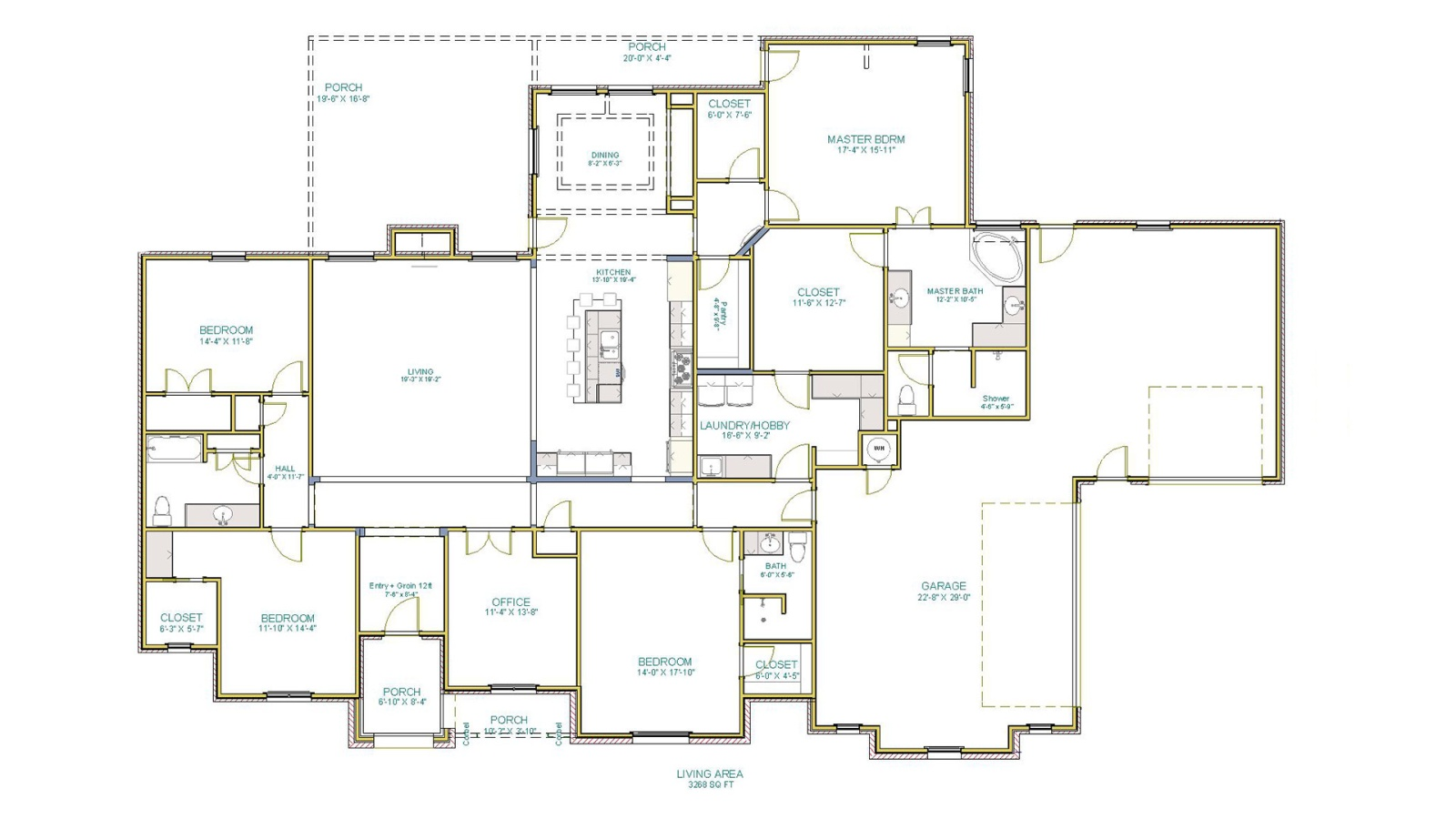 4 Bedrooms Bedrooms, ,3 BathroomsBathrooms,Custom Home,Home Plans,1084