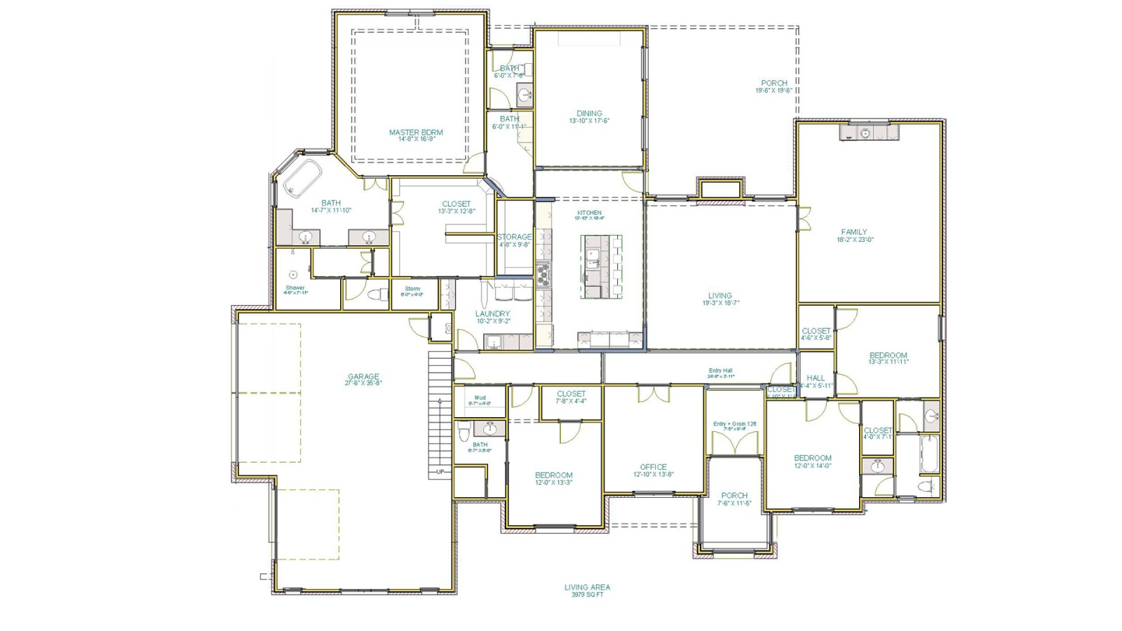 4 Bedrooms Bedrooms, ,4 BathroomsBathrooms,Custom Home,Home Plans,1086